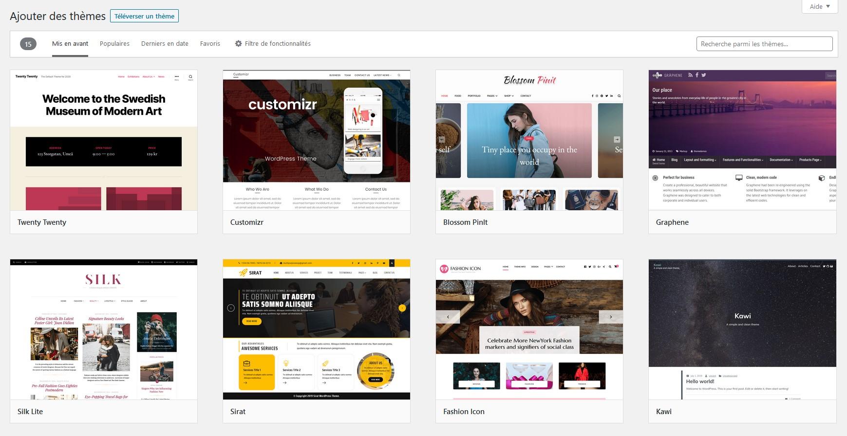 wordpress - themes wordpress - themes gratuits wordpress